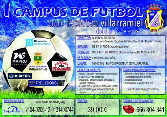 Campus Futbol Villarramiel