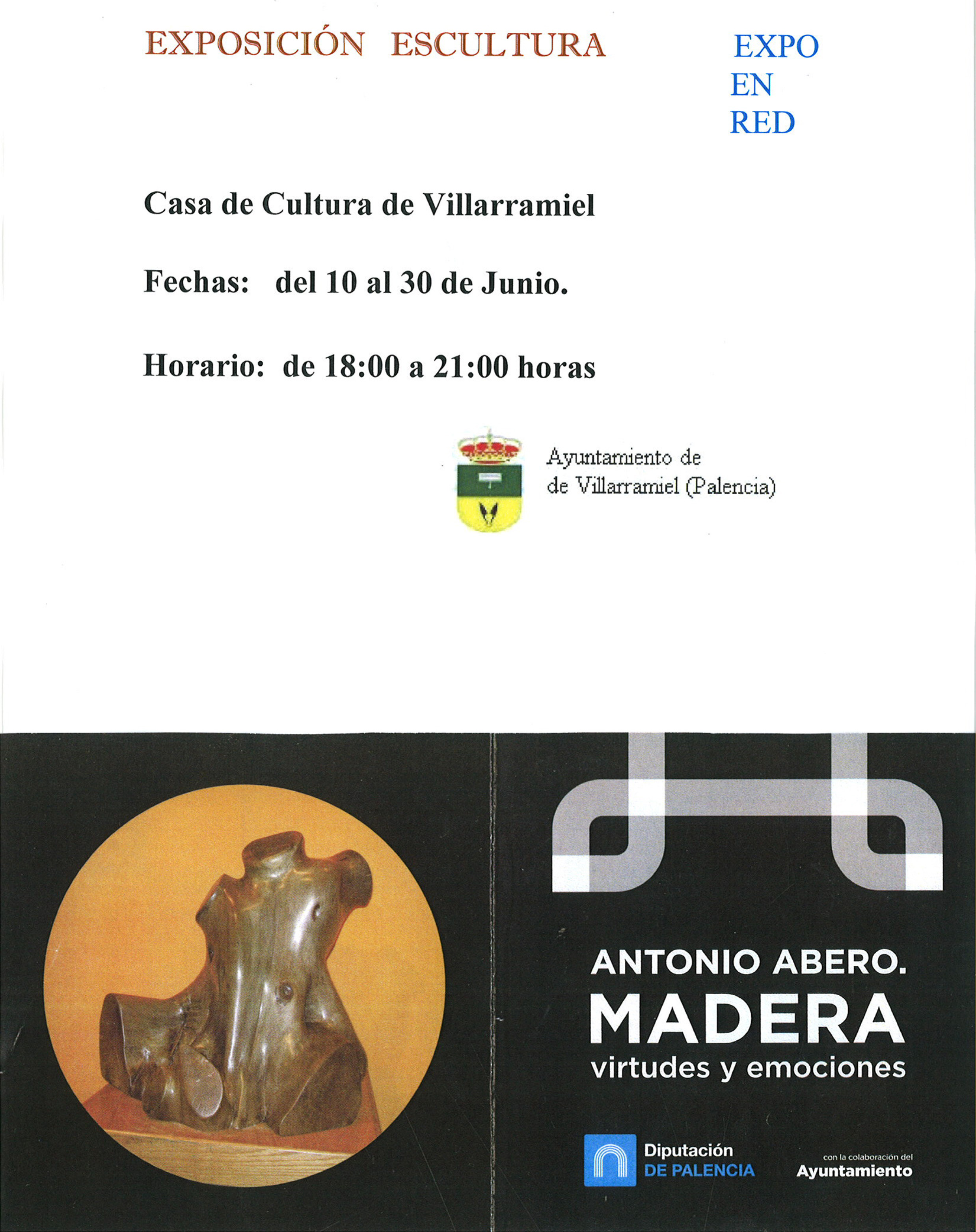 Exposición Escultura – Antonio Abero