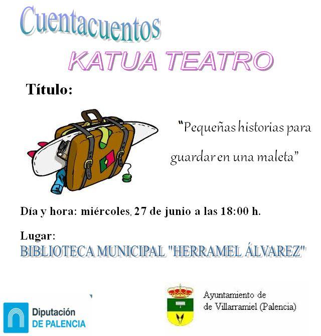 Cuentacuentos Katua Teatro (27 Junio)