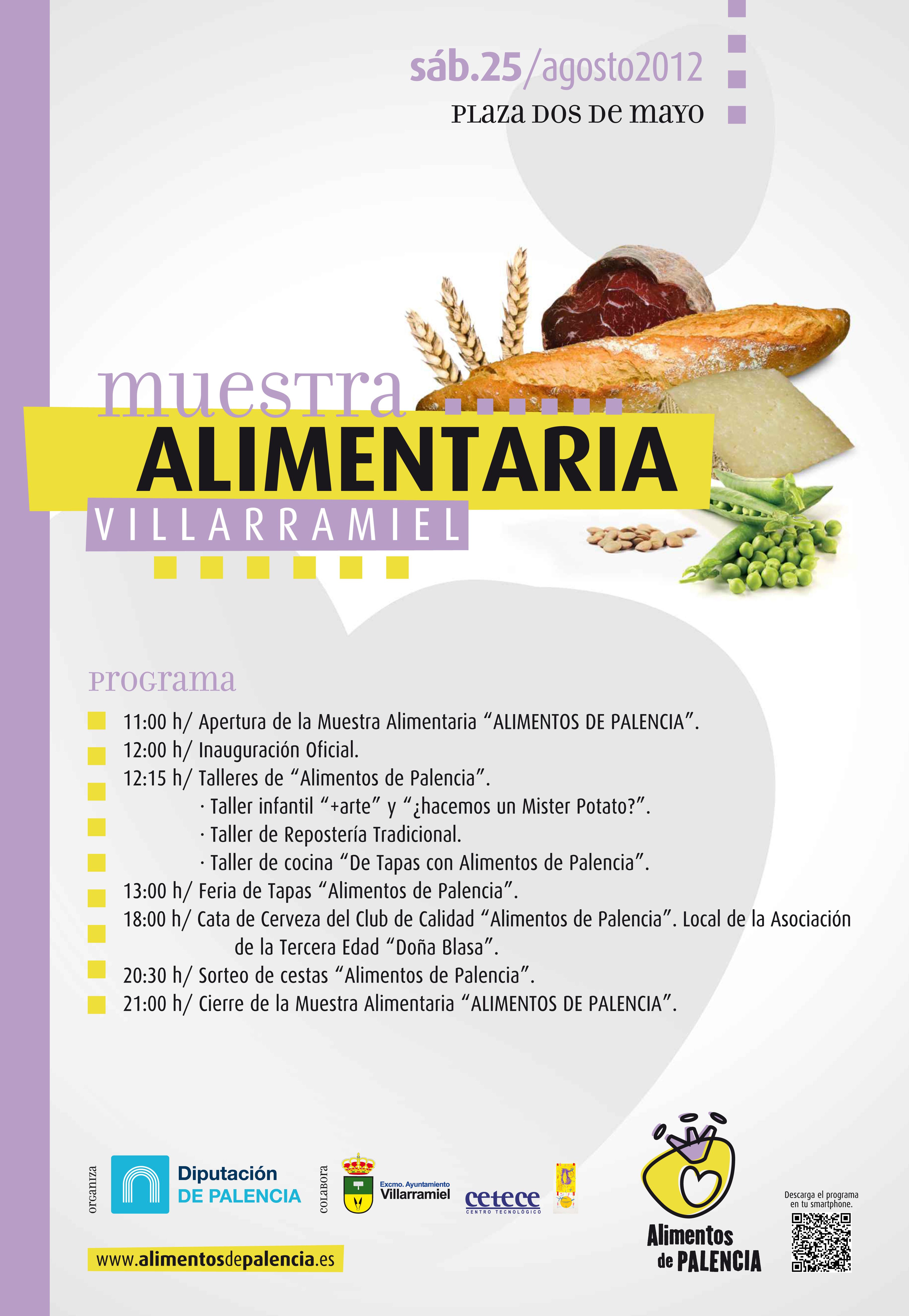 Muestra Alimentaria Villarramiel (sab. 25 agosto)