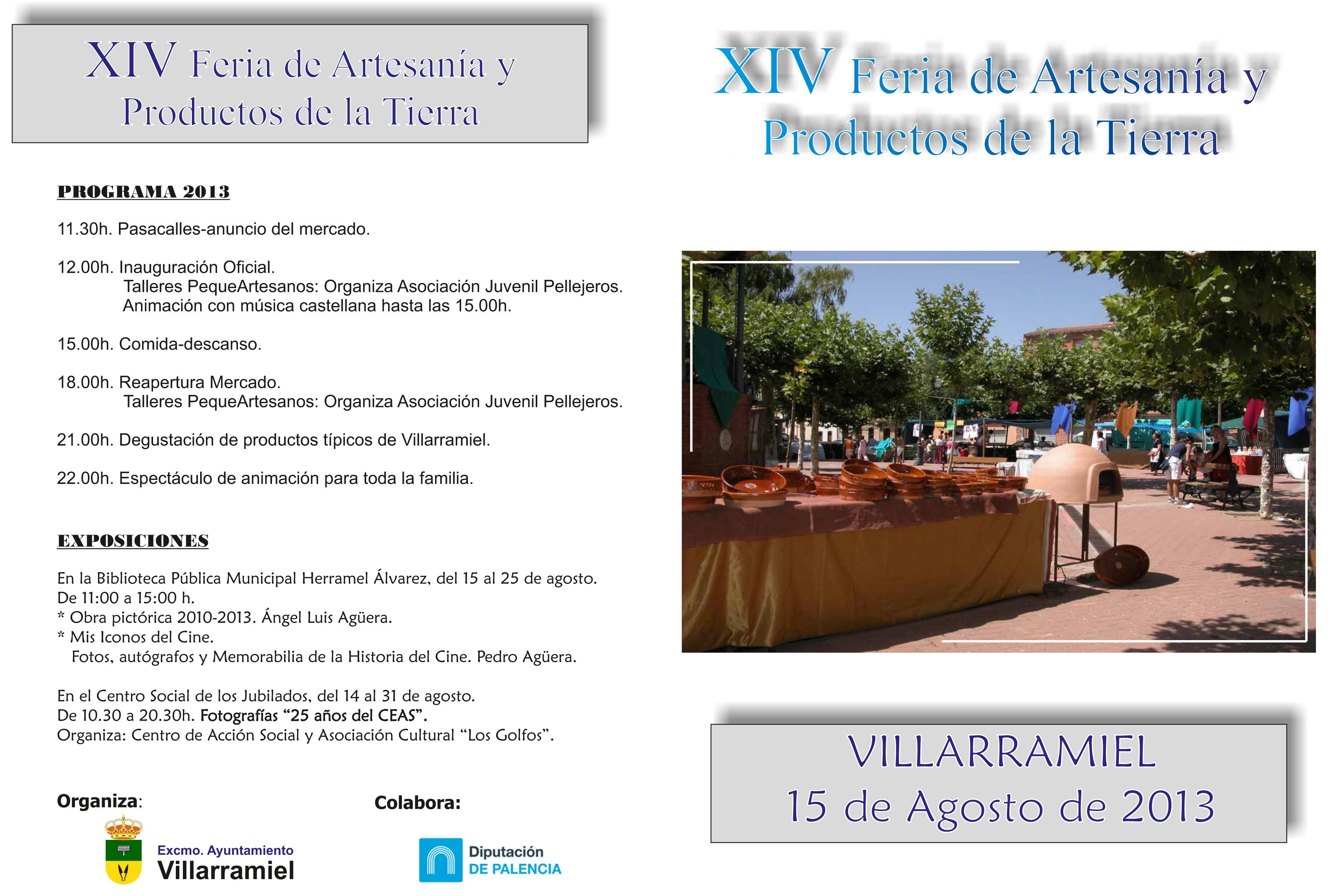 XIV Feria de Artesanía y Productos de la Tierra