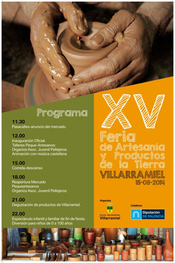 Cartel Feria Artesania 2014