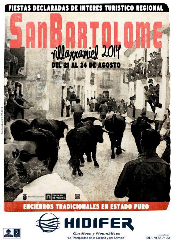 Cartel Fiestas San Bartolome 2014