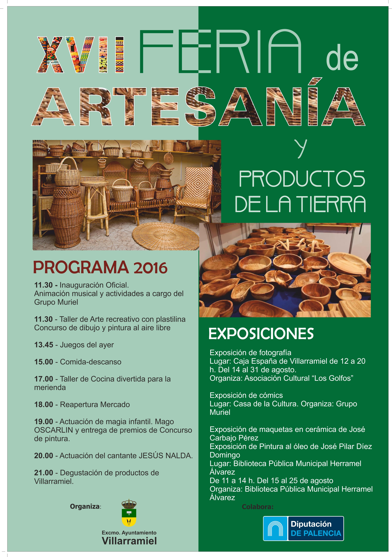 XVII Feria de artesanía y productos de la tierra