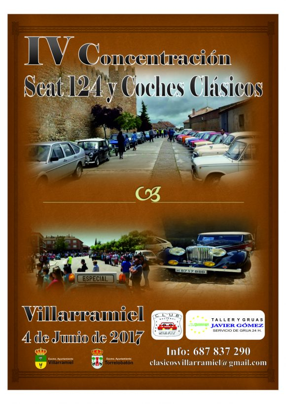 Portada Folleto Coches Clasicos 2017