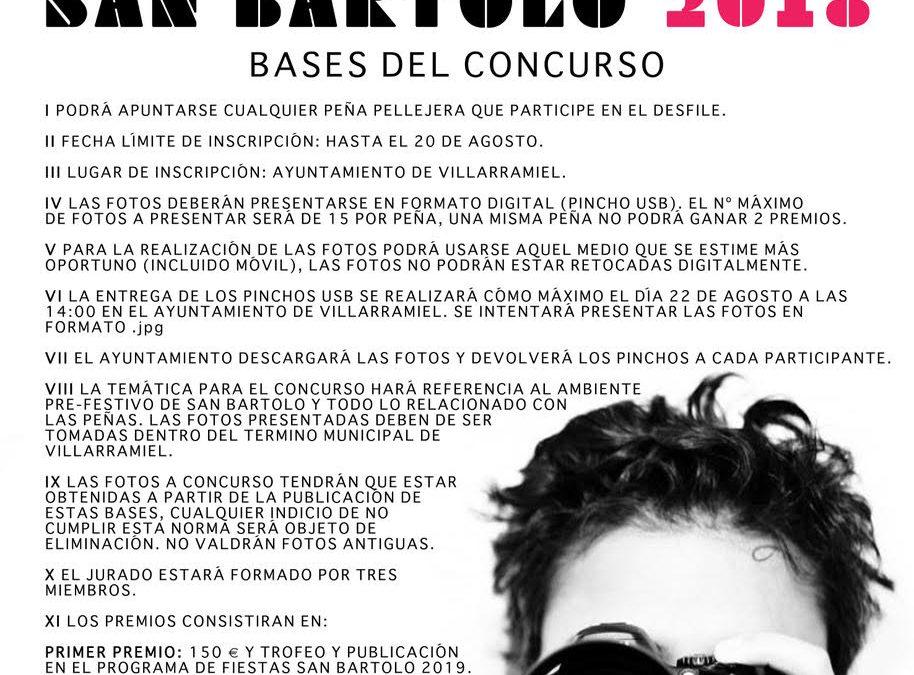 II Concurso fotográfico de Peñas San Bartolo. 2018
