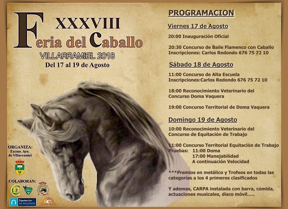 Cartel Feria del Caballo 2018