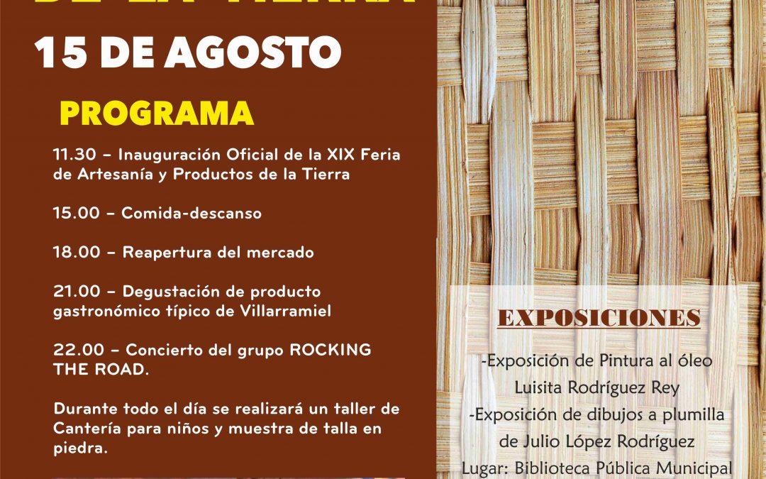 XIX Feria de Artesanía y Productos de la Tierra. 2018