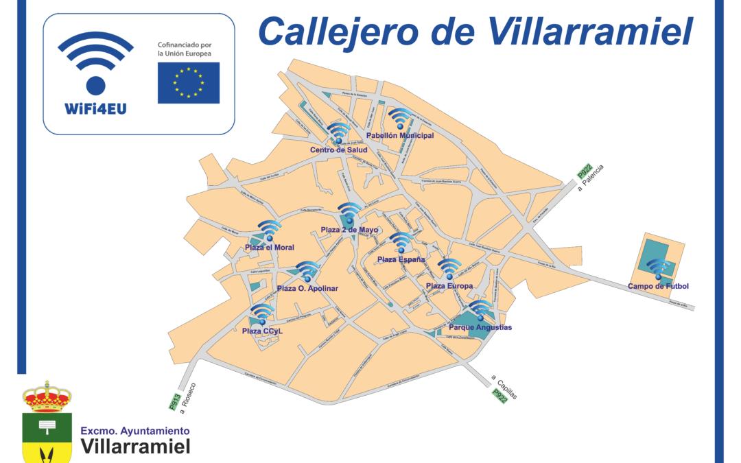 Zonas VILLARRAMIEL WIFI4EU